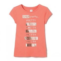 Gap 盖璞 儿童纯棉短袖T恤