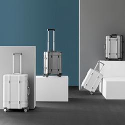 淘宝心选小井系列铝框拉杆箱旅行箱商务万向轮登机箱20寸学生24寸