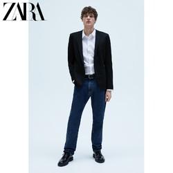 ZARA 01608301800 男士纹理西装外套