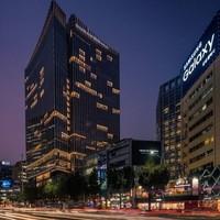 首尔四季酒店 豪华特大床房2晚(赠免税店折扣券及化妆品礼盒)