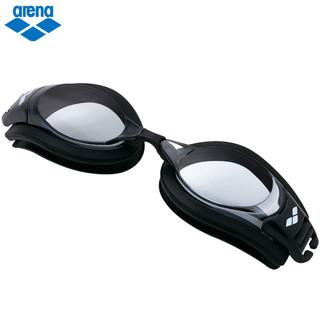 arena阿瑞娜泳镜近视度数高清防雾防水大框专业游泳眼镜装备男女