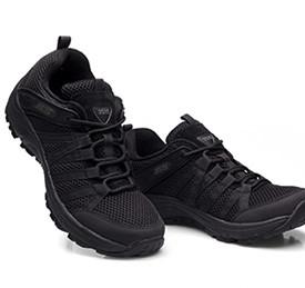 强人 TJ-ZZ09X 际华3515透气休闲跑步运动轻便耐磨户外战术作训鞋 黑色 43