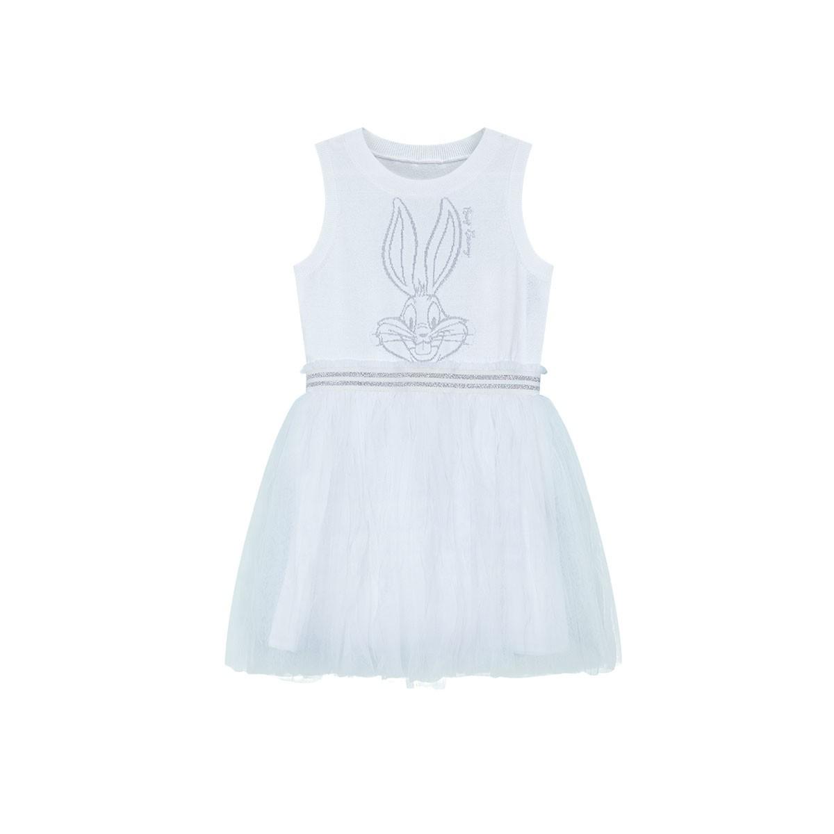 Mini Peace 太平鸟童装 女童无袖网纱连衣裙