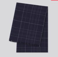 UNIQLO 优衣库 424184 男女装棉麻围巾