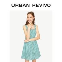URBAN REVIVO YL29R7AE2000 女士吊带连衣裙