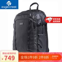 美国EAGLE CREEK逸客17.3英寸电脑包大容量户外旅行防水防盗双肩包商务背包出差必备 黑色 *2件