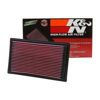 美国KN高流量空气滤清器适用于斯巴鲁森林人铃木速翼锋驭启悦维特拉空气格空气滤芯33-2075