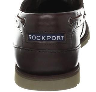 ROCKPORT  乐步   Summer Tour 2 Eye 男士真皮船鞋 棕色 US7.5