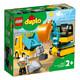 LEGO 乐高 得宝系列 10931 翻斗车和挖掘车套 +凑单品 104元包邮(需用券)
