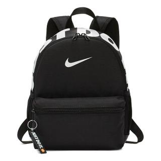 耐克(NIKE)包 运动包 双肩包 Brasilia 幼儿园书包 儿童背包 BA5559-013 黑