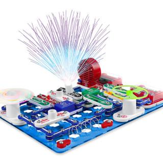 电学小子电子积木拼装玩具 男孩女孩物理电路科学实验玩具套装早教玩具编程玩具