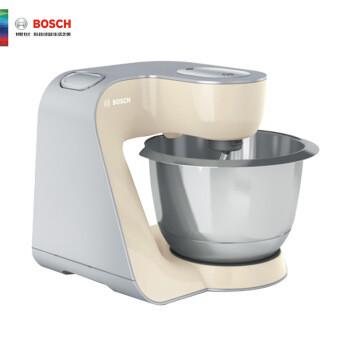 BOSCH 博世 和面机料理机多功能厨师机和面揉面搅拌商用家用MUMVC00VCN香草白