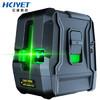 HCJYET 水平仪绿光2线 红外线标线仪 投线仪 激光贴墙仪 高精度水平尺 HT-311G