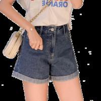 ZCQ 028 女士高腰牛仔短裤
