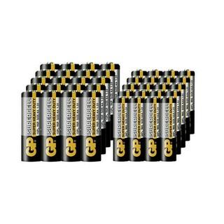 GP 超霸 碳性干电池 7号 / 5号 40粒 *2件