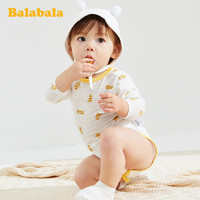 Balabala 巴拉巴拉 新生儿连体衣睡衣