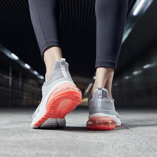 乔丹 男鞋轻便休闲鞋气垫减震跑步鞋 XM2590205 纯质灰/活力橙 40.5