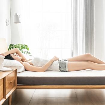 京东京造  记忆棉学生宿舍床垫 100%记忆绵填充单人床垫 加厚宿舍床褥 90*200*10cm 50D