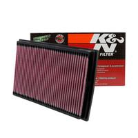 KN美国风格可清洗高流量空气滤清器适用于高尔夫POLO波罗空气格空气滤芯空滤33-2221
