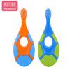柳濑 儿童牙刷 婴儿软毛刷1-3岁 宝宝训练牙刷 (2支装)
