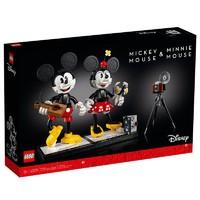 百亿补贴:LEGO 乐高 迪士尼系列 43179 米奇和米妮