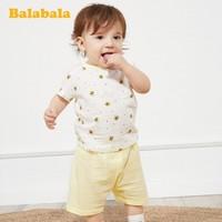 Balabala 巴拉巴拉 婴儿短袖套装