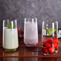 帕莎帕琦进口玻璃大肚杯圆形思慕雪慕斯杯酸奶冷水冷饮杯子牛奶杯三支装470ml