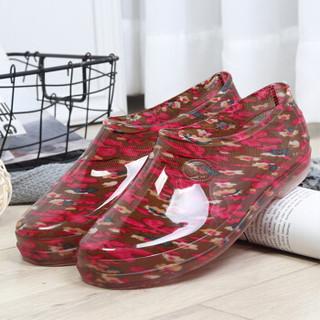 雨花泽 夏季工作雨鞋女 短筒雨靴防滑低帮水鞋女厨房防滑浅口胶鞋子 黑色38码(偏小1码/适合37码脚长)