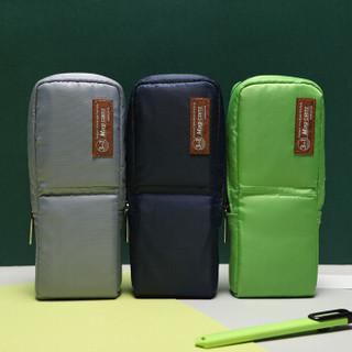日本国誉(KOKUYO)笔袋笔盒·MAG CRITZ190×75×45mm黄绿中号 1个装 WSG-PC32-YG2