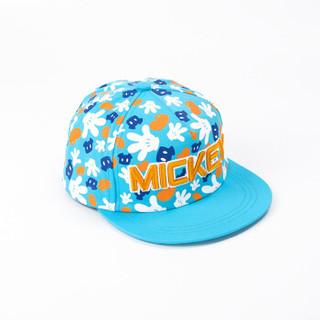 DISNEY迪士尼太阳帽 米奇棒球帽 男童休闲鸭舌帽 SM60284蓝色 54CM 建议5-12