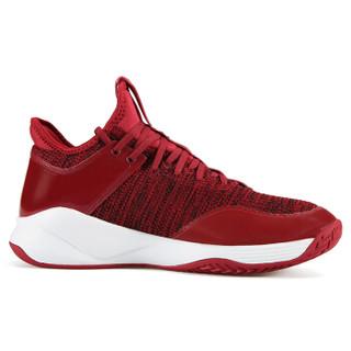 匹克(PEAK)男子篮球鞋防滑耐磨实战球战靴轻质透气运动鞋 DA911011 体育红 41码