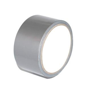谋福(CNMF)布基胶带 地毯胶带 管道捆扎胶布 彩色布胶带 (布基胶带 银灰色款)8600