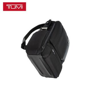 途明 TUMI Arrive系列 男士时尚商务聚酯纤维双肩包背包0255013D2 黑色