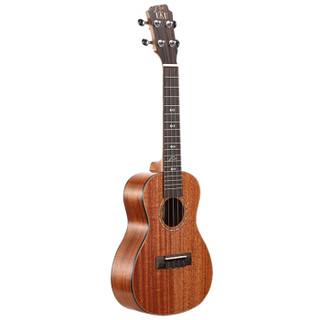 UKU单板尤克里里ukulele乌克丽丽面单小吉他GT30C桃花芯23寸初学者