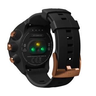 颂拓(SUUNTO)SPARTAN SPORT WHR 斯巴达光学心率GPS多功能登山跑步骑行智能运动手表游泳户外腕表中文古铜黑