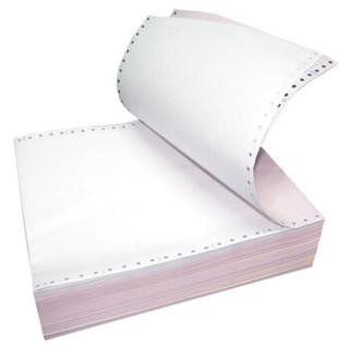天章(TANGO)天章龙二联三等分不撕边电脑打印纸 彩色针式打印纸241-2-1/3(色序:白红 1000页/箱)