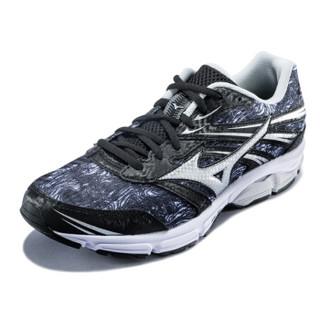 Mizuno美津浓 缓冲跑步鞋运动鞋男 ZEST J1GR186980 白灰/黑 42.5