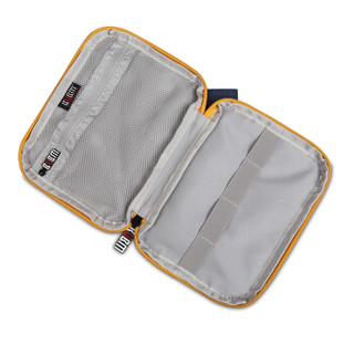 BUBM DIP数据线包便携包U盘包线材收纳包耳机包移动电源包数码配件收纳包 蓝色迷你