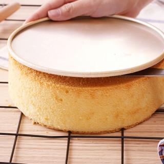 杰凯诺8寸黄金活底烘焙蛋糕模具 碳钢不粘层轻松易脱模 戚风蛋糕烘培工具