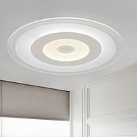 6日0点:NVC Lighting 雷士照明 圆形led吸顶灯 20w白光 直径40cm