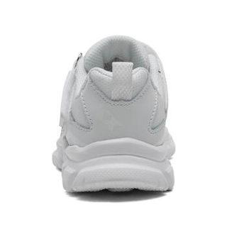 斯凯奇(Skechers)舒适小白鞋 魔术贴缓震运动休闲鞋95474L 白色 28.5