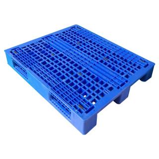 苏美特塑料托盘超市仓储垫板叉车板防潮加厚材料1.2*1.1m田字格