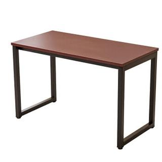 苏美特电脑桌会议桌条形钢木桌洽谈桌1.6米