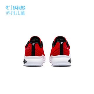 乔丹(QIAODAN)童鞋男小童鞋子新款儿童运动鞋网面跑步鞋 QM9310202极光红/白色32