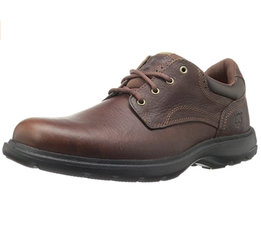 Timberland 添柏岚 Richmont PT Oxford 男士休闲皮鞋 Brown US7