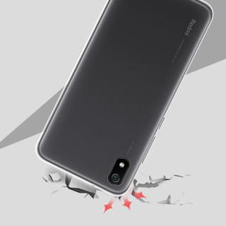 莫凡 小米红米7A手机壳红米7a保护套 全包边防摔透明壳tpu软壳 适用于小米红米7A 透明色