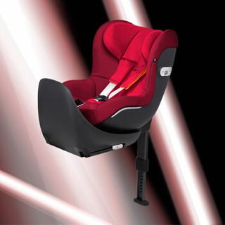 gb铂金儿童宝宝婴儿安全座椅 360°旋转机构 L.S.P 侧撞保护系统 VAYA-18CNCRED 烈焰红 0-4岁