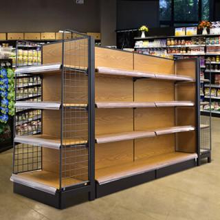 皇球货架超市货架展示架单面商品货架双面便利店货架金属层架 长69*宽36*高135cm=4层(单面副架)