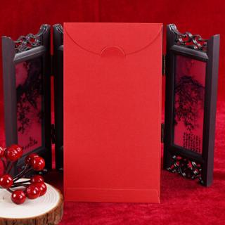 新新精艺 红包创意利是封 高档个性文字红包袋子结婚随份子开业男女朋友生日贺礼百元千元开门红包 10个混装