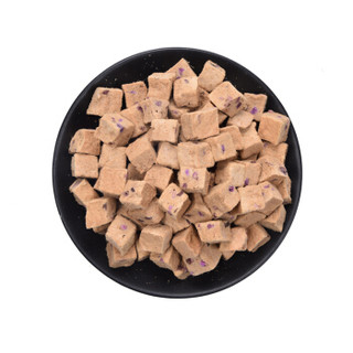 吉吉(GIgi)猫零食 狗零食 冻干牛肉紫薯 100g 猫狗通用